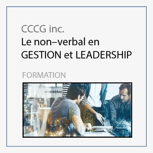 CCCG - Formation Gestion et Leadership
