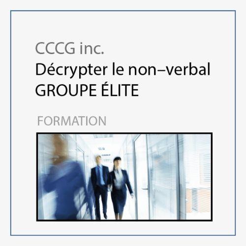 CCCG - Le non verbal Groupe Elite