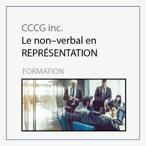 CCCG - Le non verbal en représentation